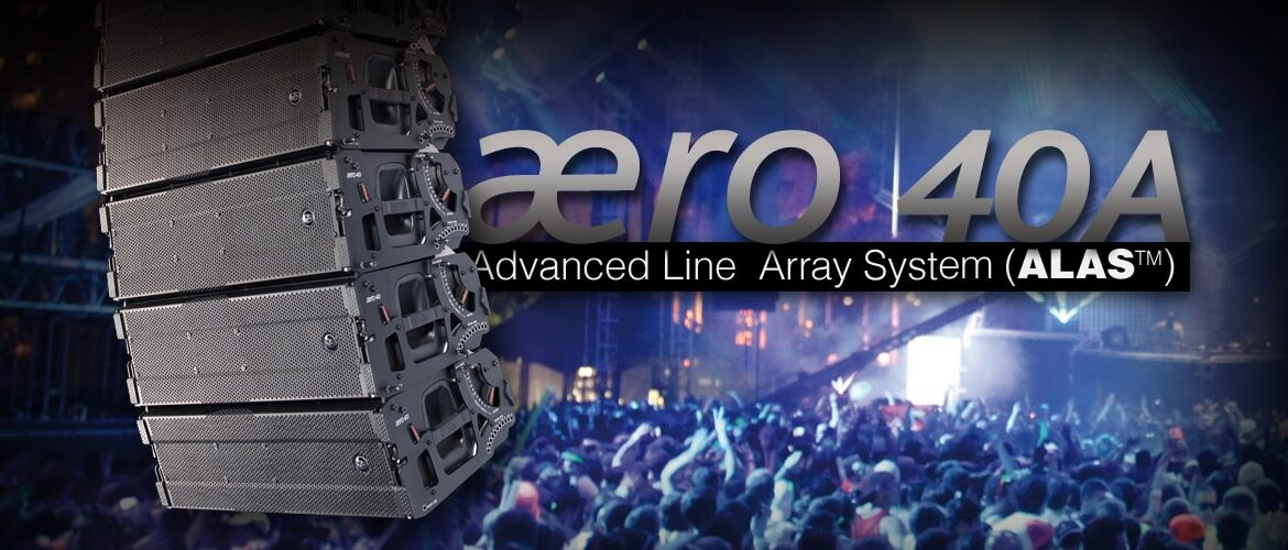 DAS Line Array Aero40A