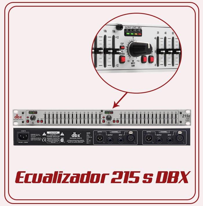 Equipo básico para ecualizar Audio Luces