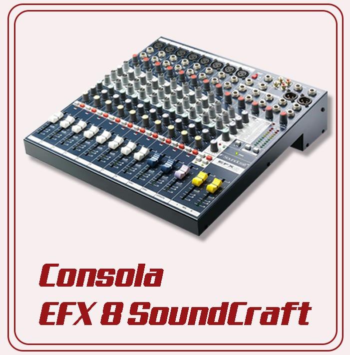 Equipo básico para mezclar Audio Luces