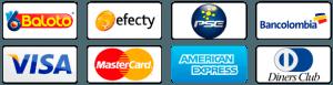 Elige el medio de pago que quieras
