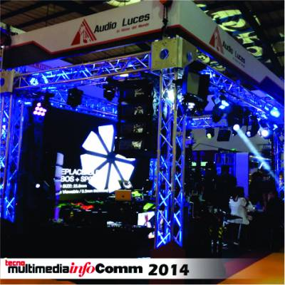 Audio Luces en Infocomm 2014