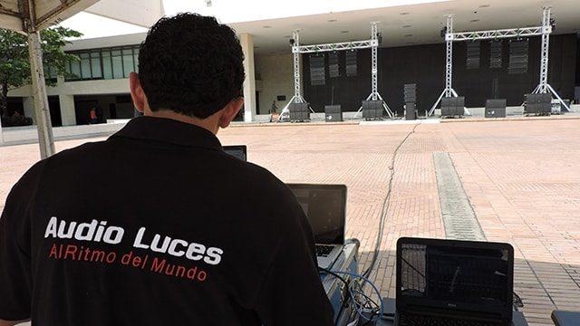 Equipo Audio Luces Cali