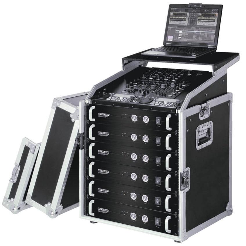 Rack Case Reloop 19 12 Ru Pro Laptop Tray Audio Luces