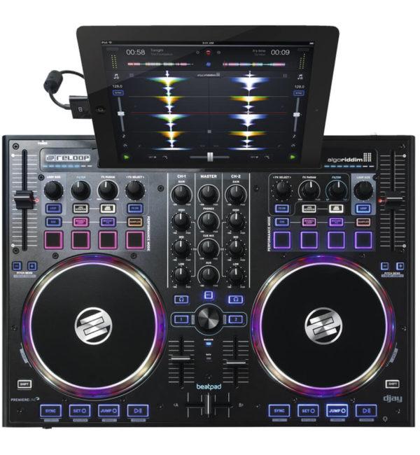 Controlador Midi Reloop Beatpad