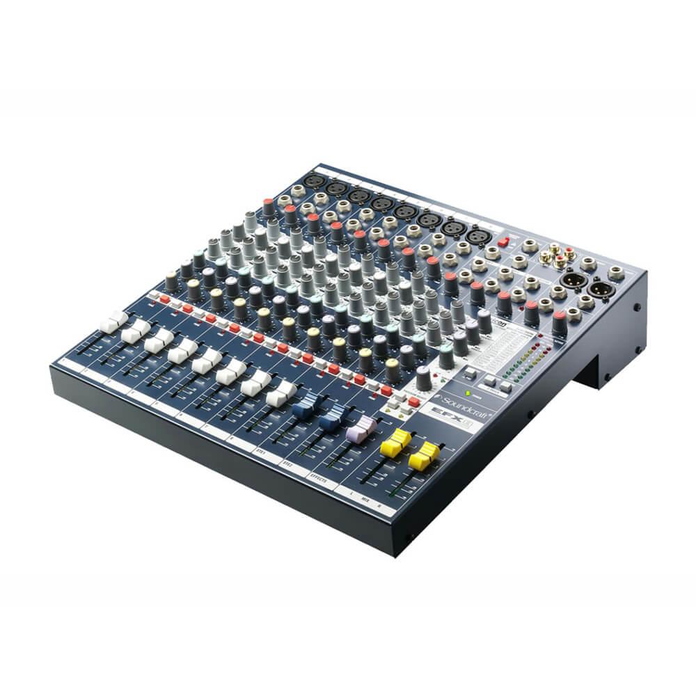 Consola Soundcraft EFX8 8Mic 2St 32Fx