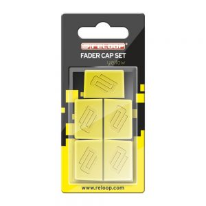 FADER CAP SET YELLOW 1