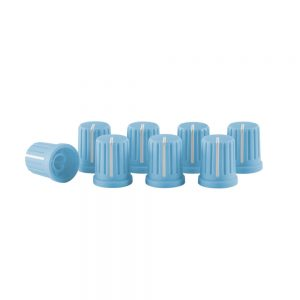 KNOB CAP SET BLUE 0