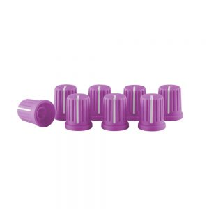 KNOB CAP SET PURPLE 0