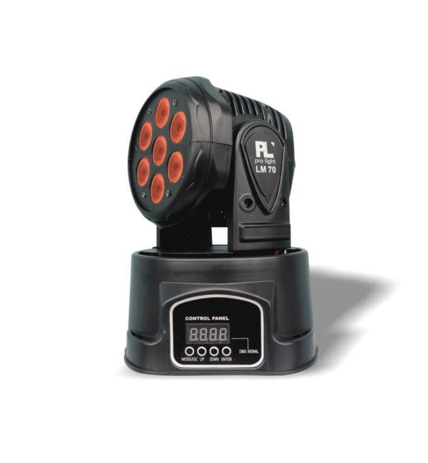 Mini Cabeza Móvil LM70 PL Pro Light