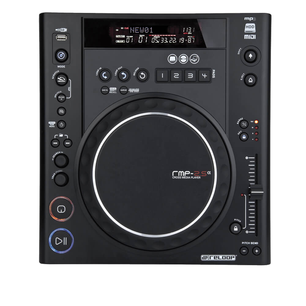 RMP-2.5 ALPHA CD PLAYER RELOOP