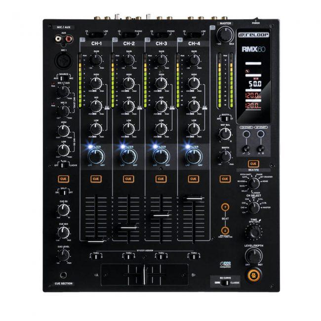 Mixer Reloop Rmx-60 Digital 6 Ch