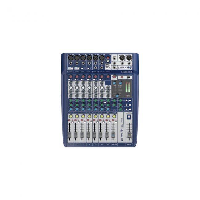 Consola Signature Soundcraft 10