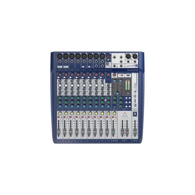 Consola Signature Soundcraft 12