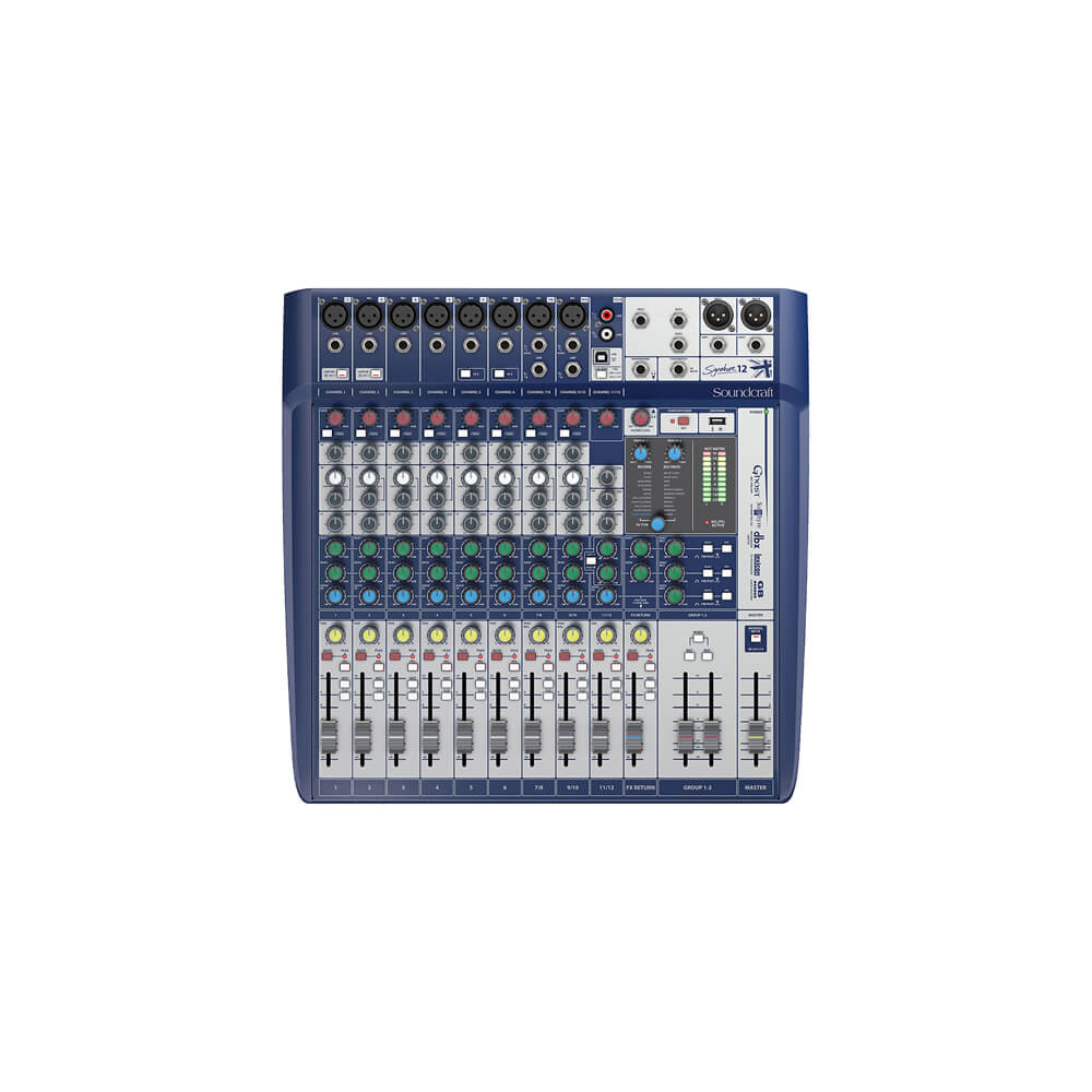 Consola Signature Soundcraft 12