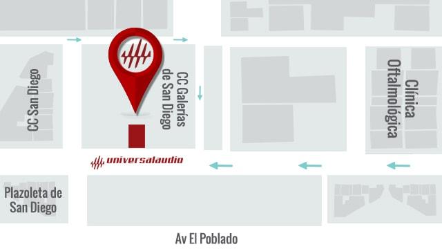 Universal Audio Medellin