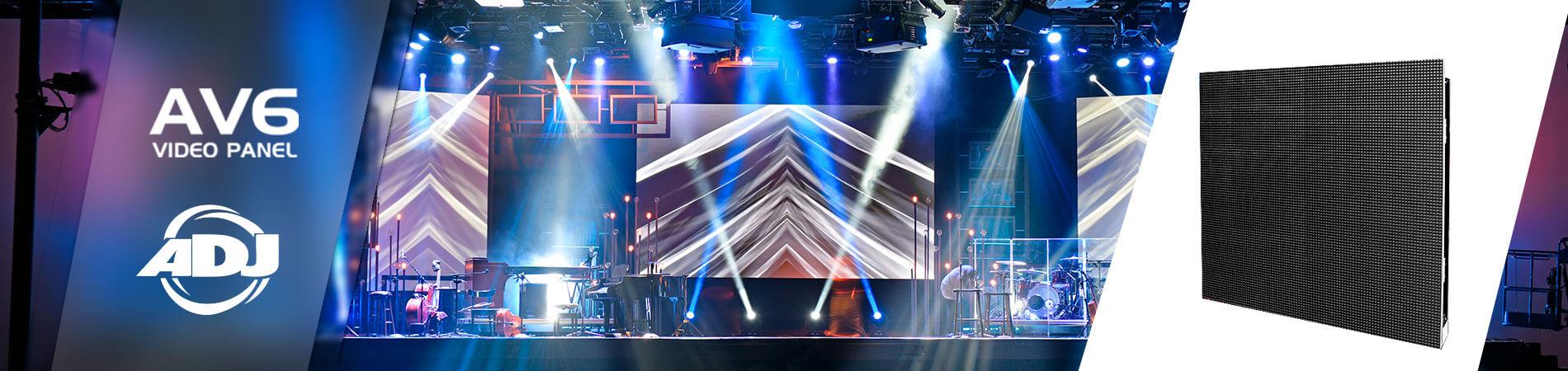 AV6 Video Panel - Audioluces