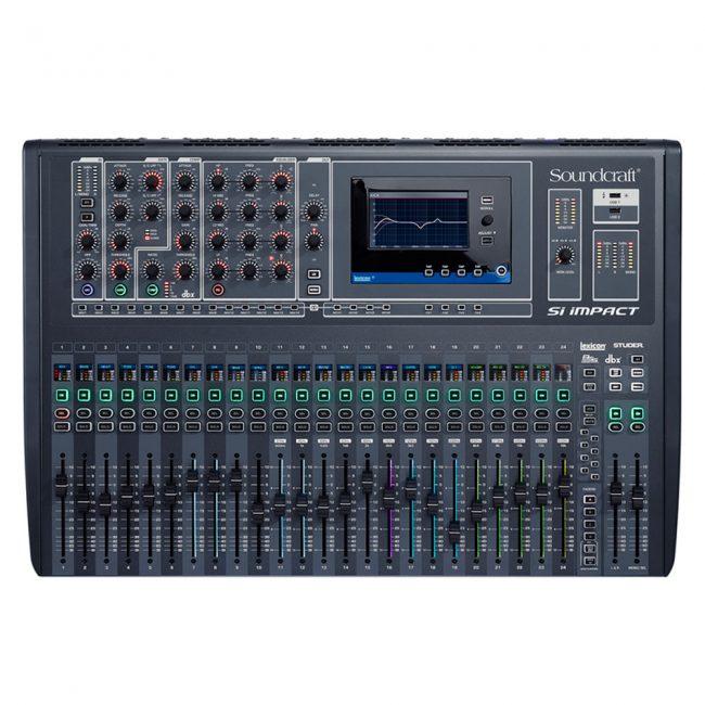 Consola Mezcladora Si Impact soundcraft