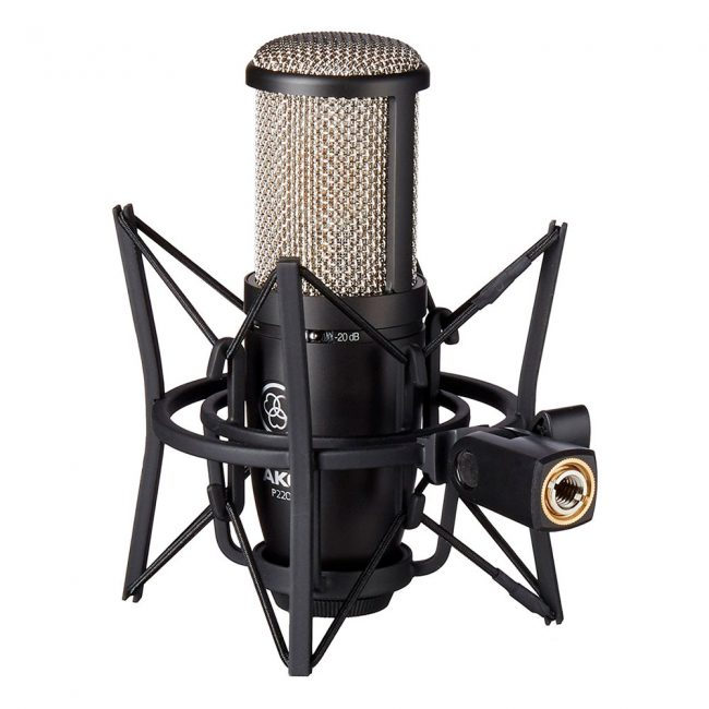 Microfono de condensador AKG P220