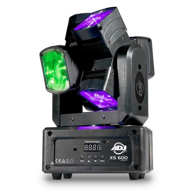 Cabeza Movíl LED ADJ XS 600 6x10w rgbw