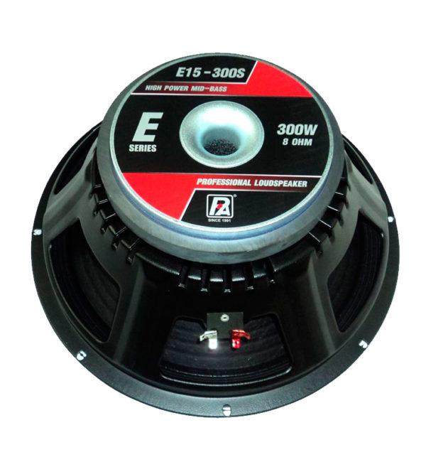 Parlante E15-300S V2 15″ 300W P AUDIO