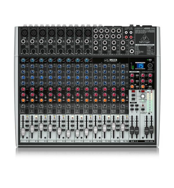 Consola Pasiva BEHRINGER XENYX X2222USB 22ch
