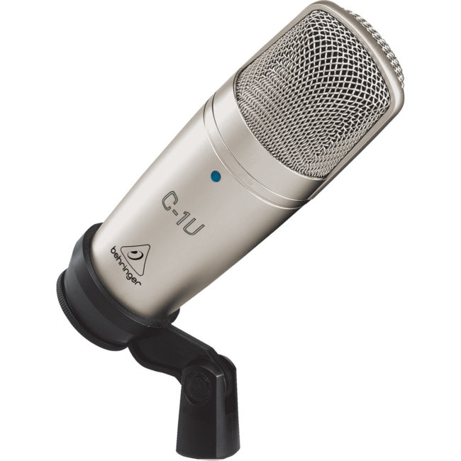 Micrófono para estudio Behringer C1U