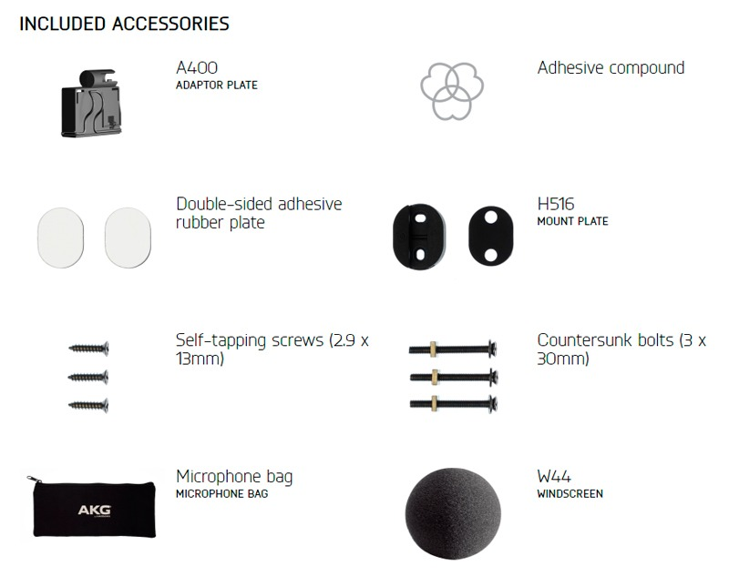 Micrófono para instrumentos AKG C516ML