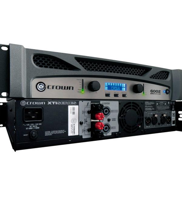 Amplificador Crown XTi 6002 De 6000W