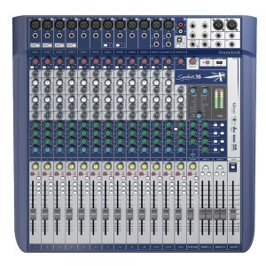 Consola Soundcraft Signature 16 12MIC 3St USB