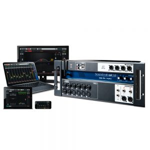 Consola digital Soundcraft Ui16 16Ch Wifi