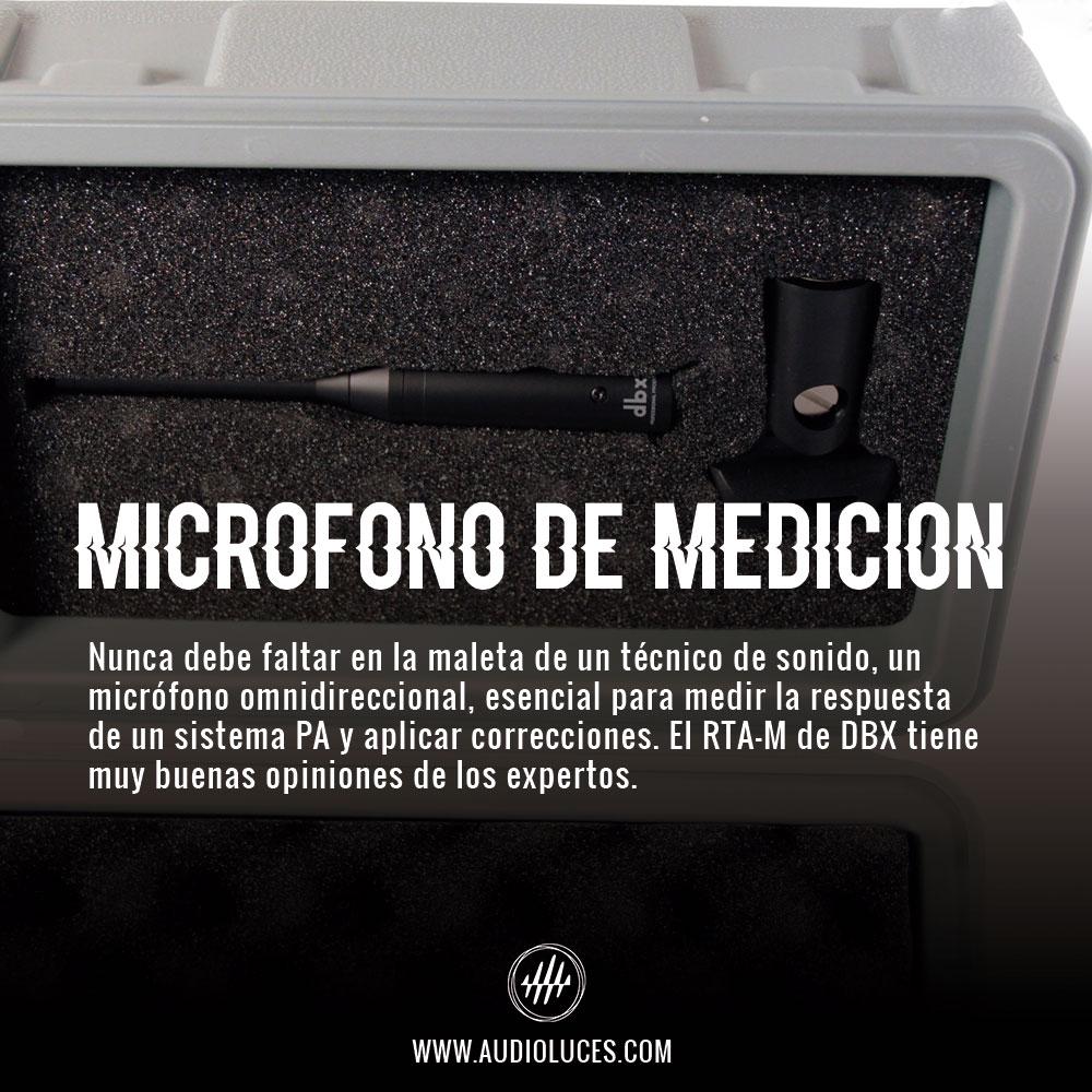 Micrófono de medición