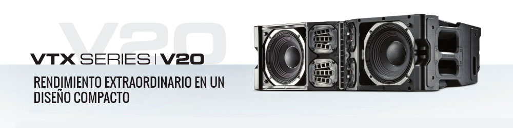 Line Array Abierto JBl