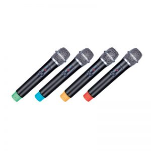 Set de 4 Micrófonos Inalámbricos 2