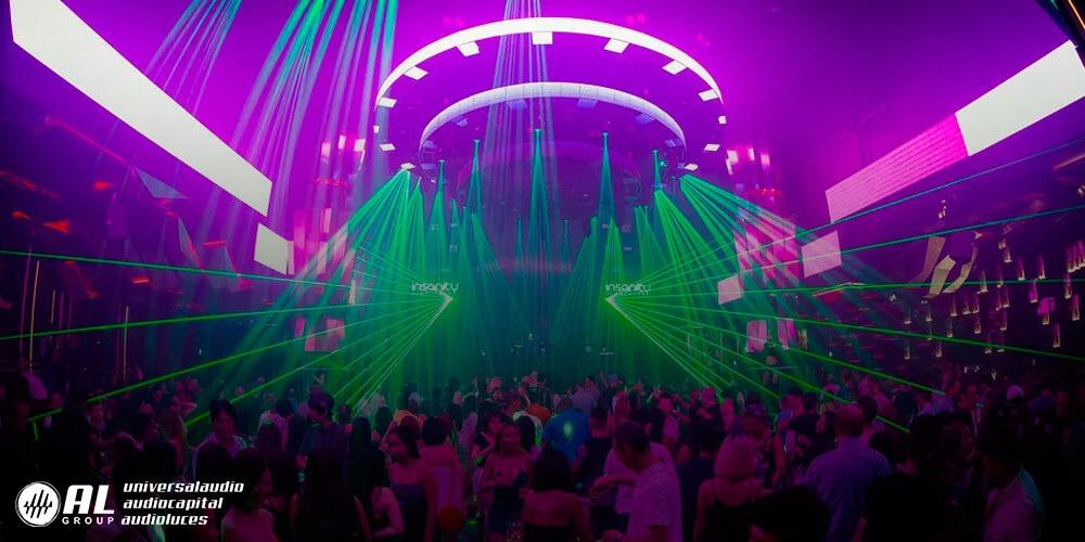 Iluminacion de discotecas