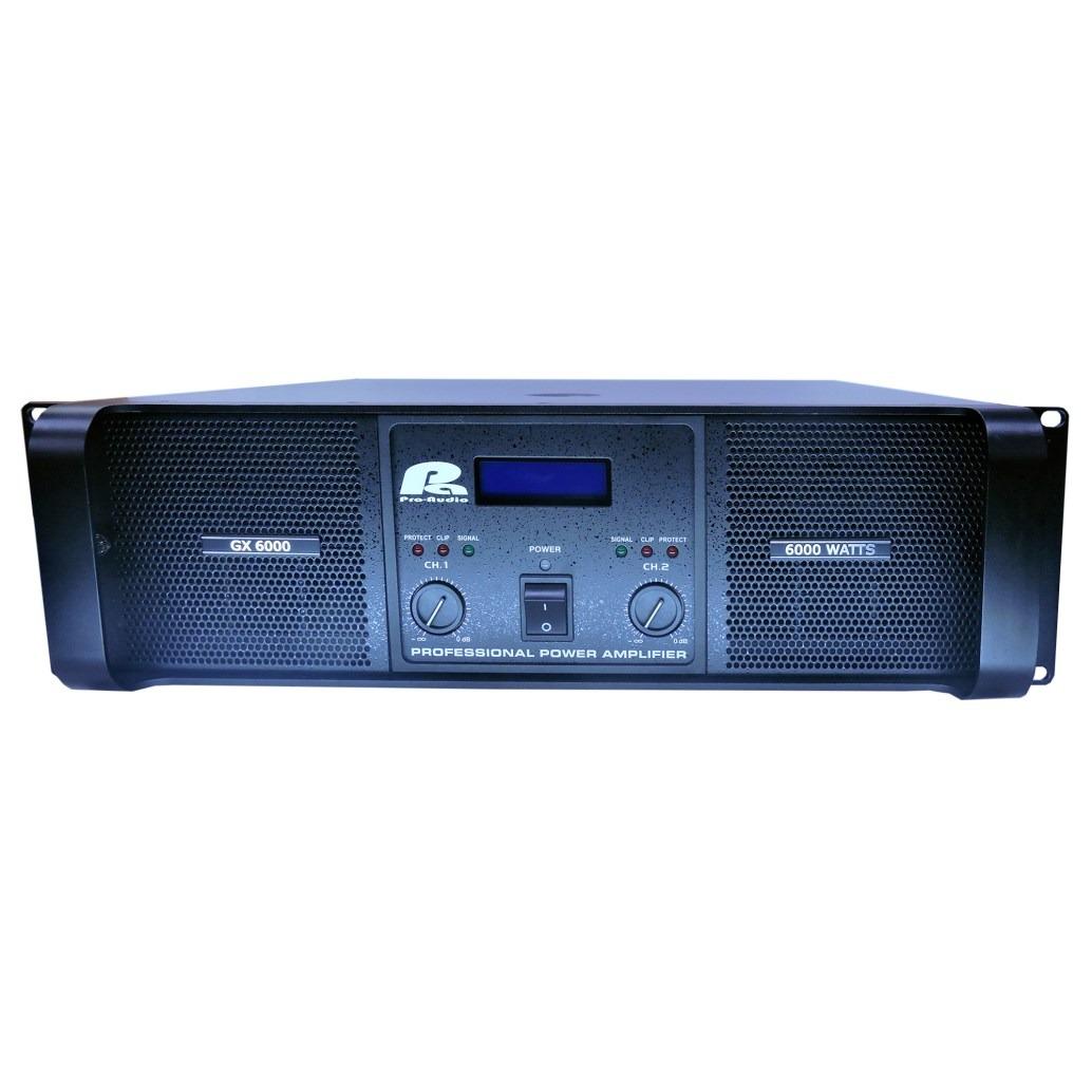 Amplificador GX 6000