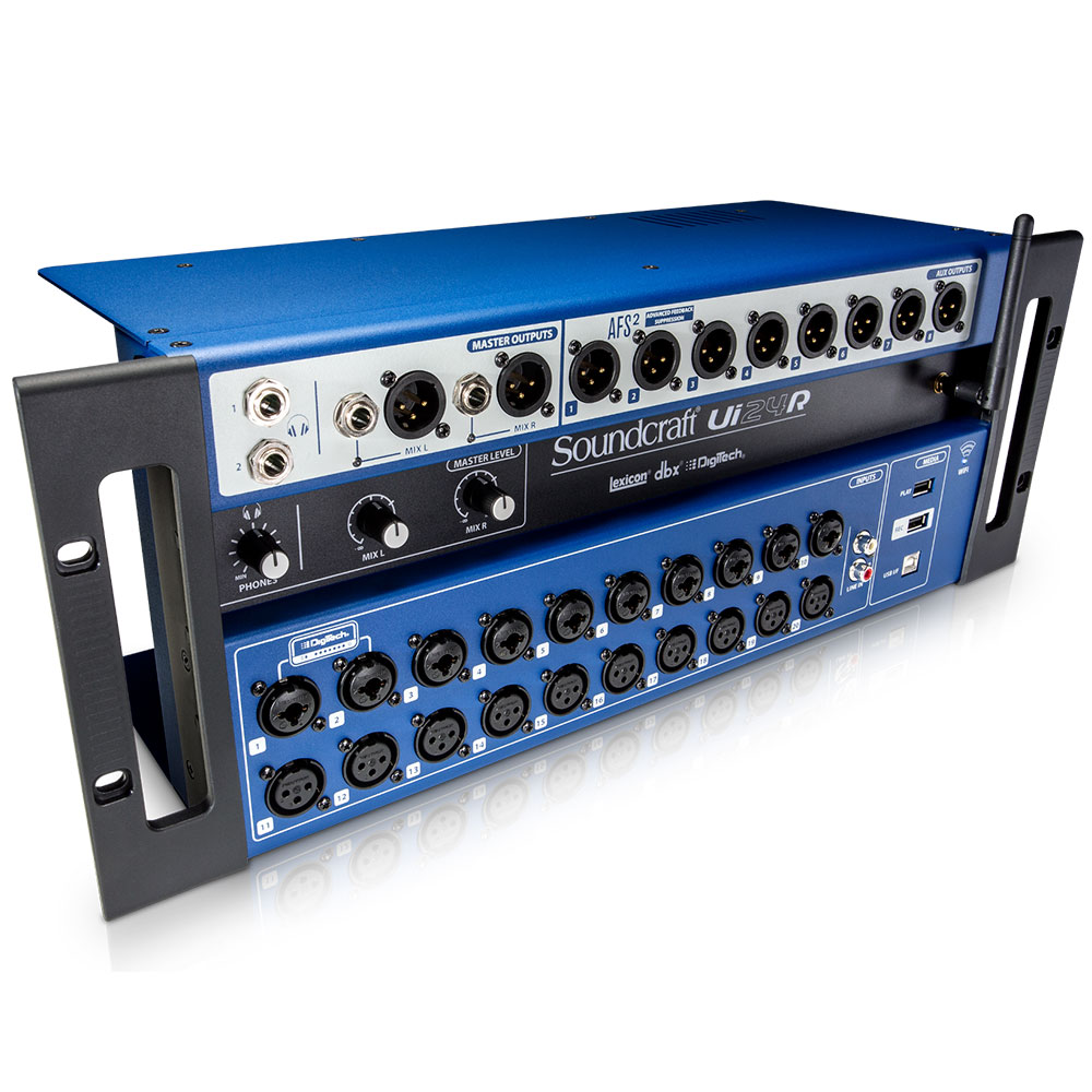 Consola Digital Soundcraft Ui24R