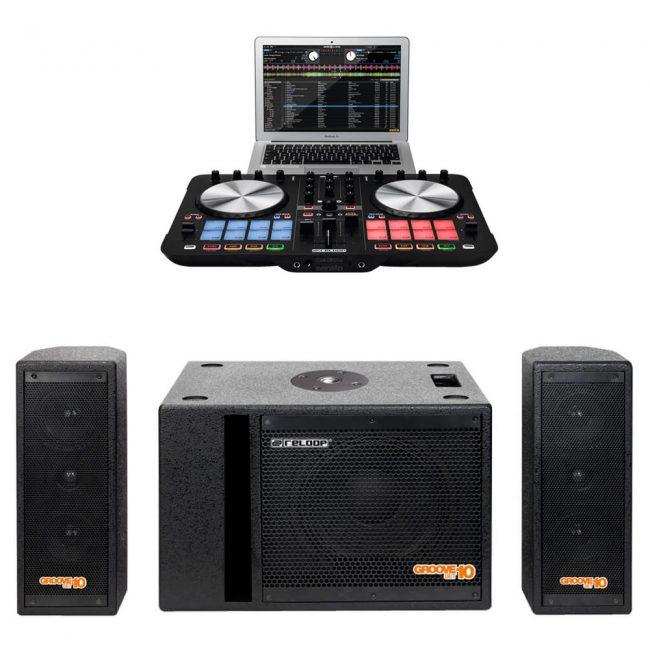 Combo Groove Set 10 + Beatmix 2 mk2