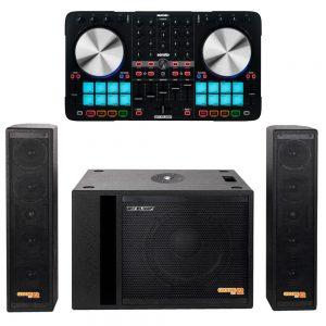 Groove set 12 + Beatmix 4 mk2