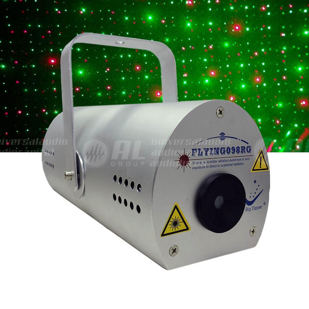 Laser rojo y verde Big Dipper
