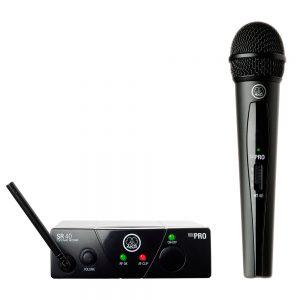 Micrófono inalambrico de mano akg