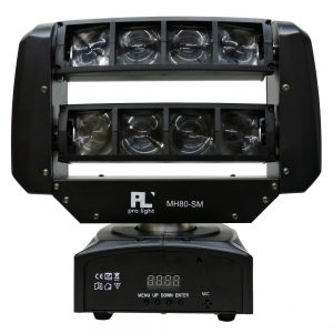 MH80-SM CABEZA MOVIL 8X3W 2R 2G 2B 2W PL PRO LIGHT (2)