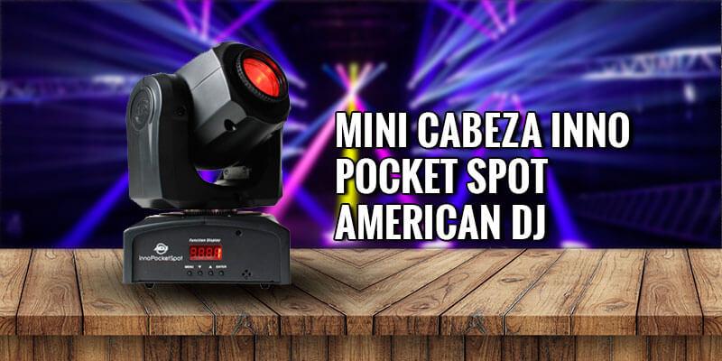 luz robotica pocket spot adj