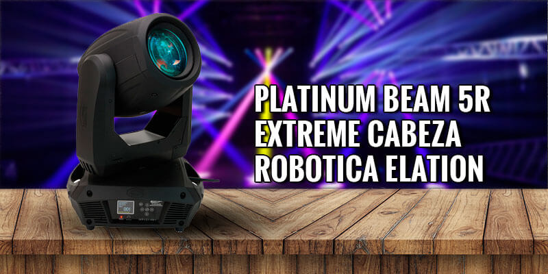 luz robotica platinum beam