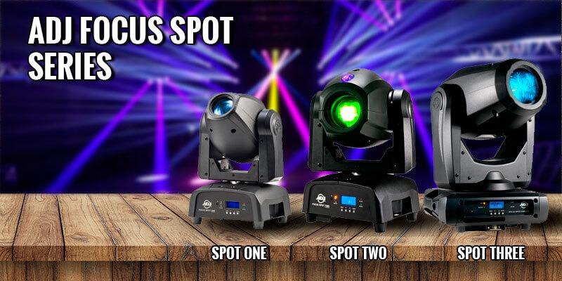 luz robotica adj focus spot