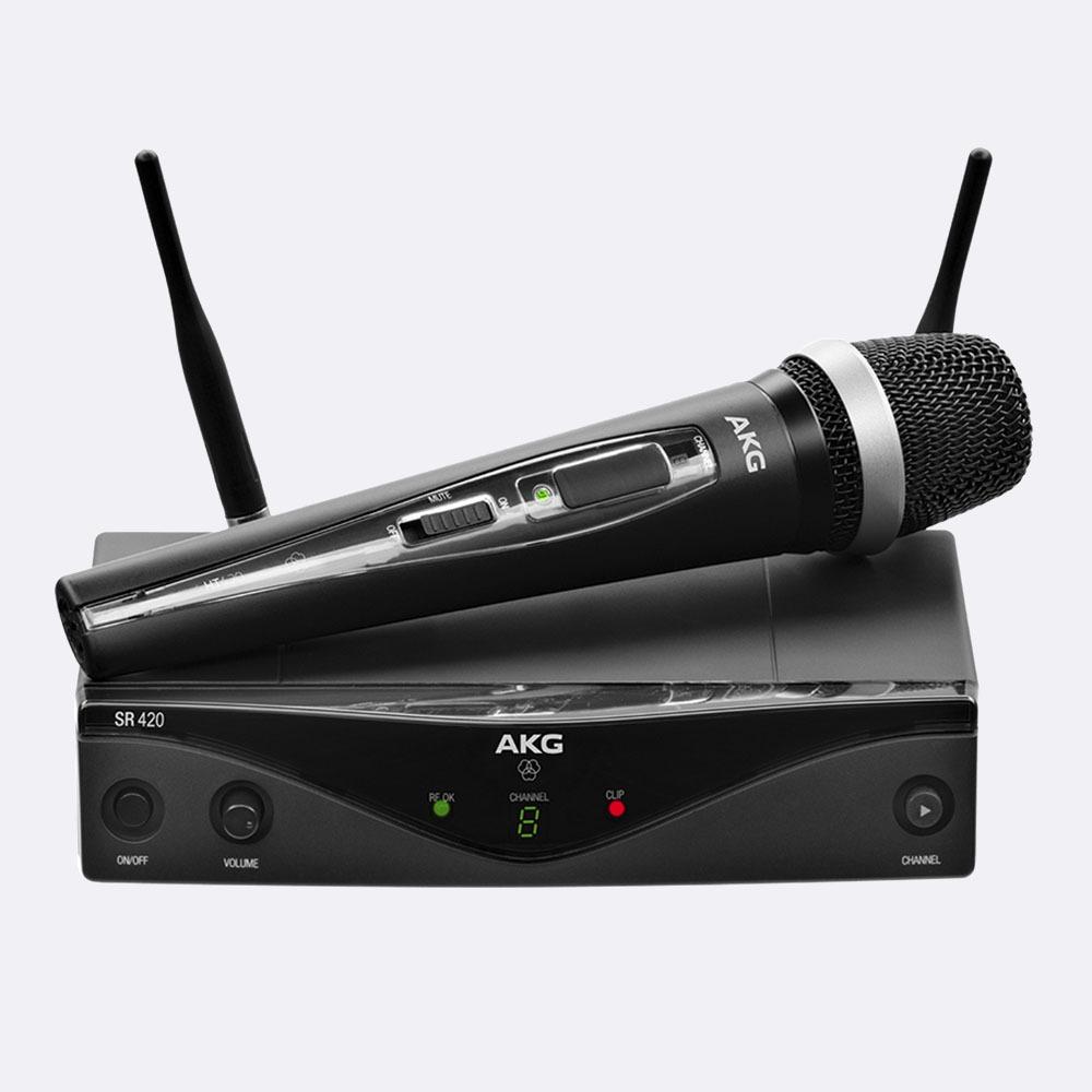 Microfono Inalambrico Vocal wms420