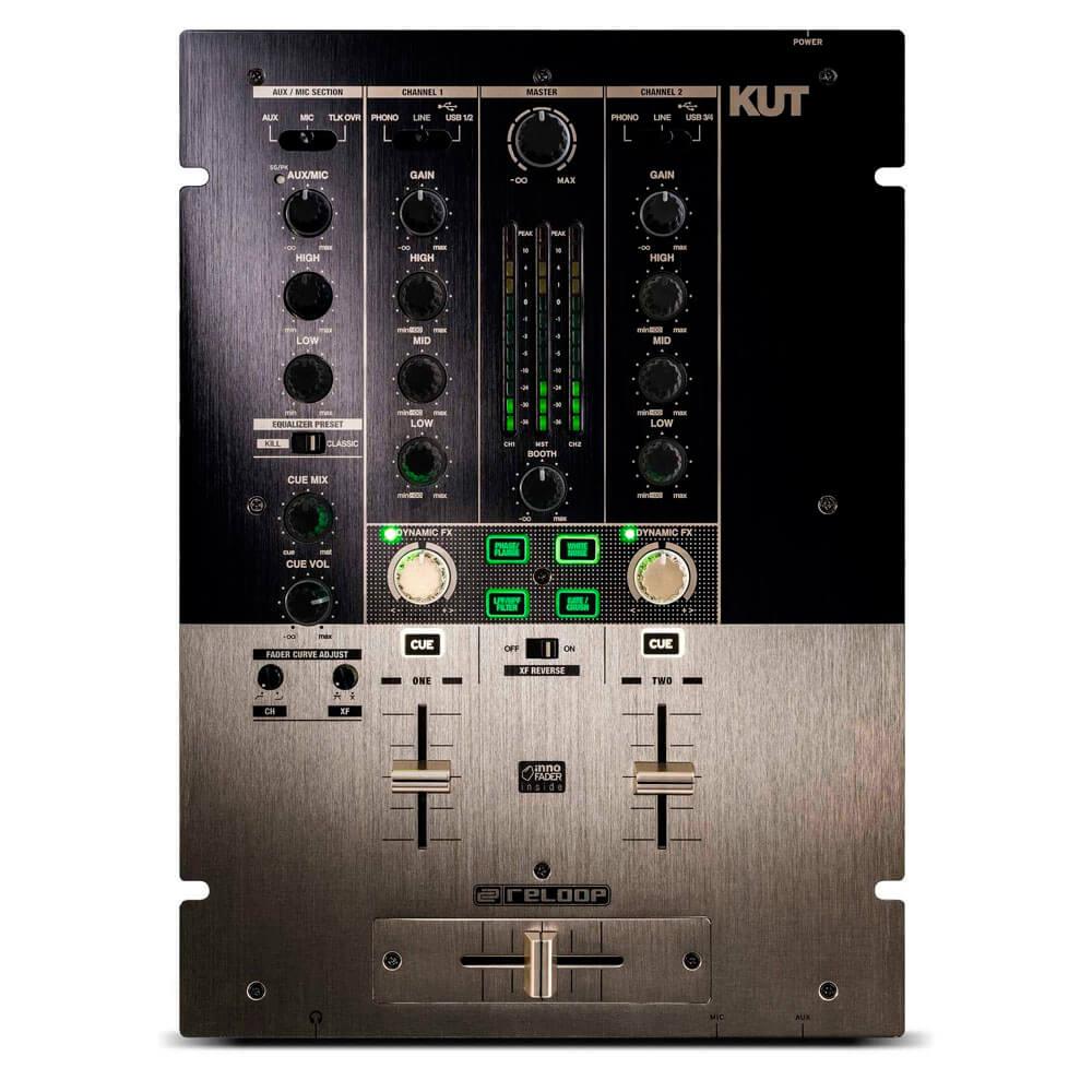 Mixer para Scratch Reloop KUT