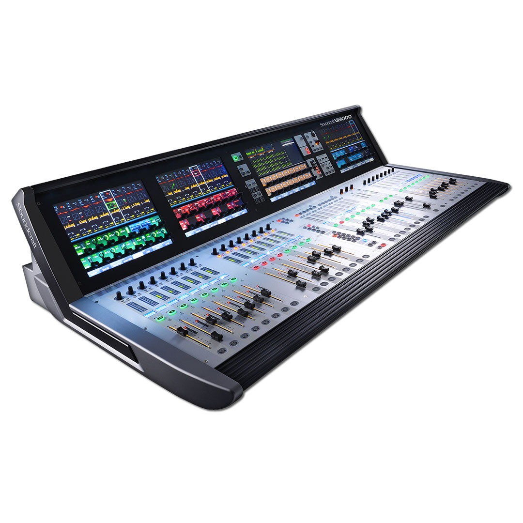 Consola Digital Soundcraft Vi3000
