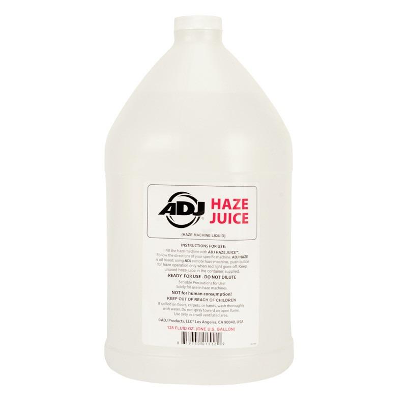 Liquido a base de aceite para maquinas de humo Haze de ADJ, este producto es de uso exclusivo con la maquina de humo Entour Haze.