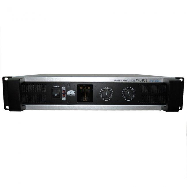 VPL-600 AMPLIFICADOR 2X500W A 2 OHMIOS CLASE AB PA PRO AUDIO