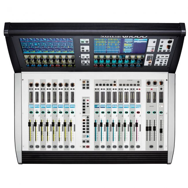Consola Digital Soundcraft Vi1000 96 canales